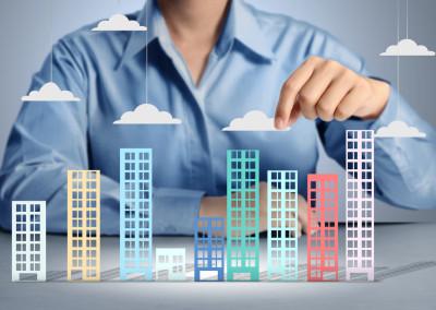 Структура сделок на рынке недвижимости в КР по всем типам недвижимости