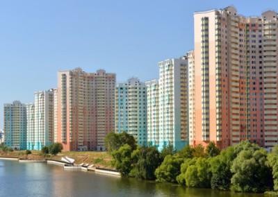 Обзор структуры первичного рынка квартир в Бишкеке 2015 г.